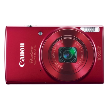Canon - Elph 190 IS (Roja)