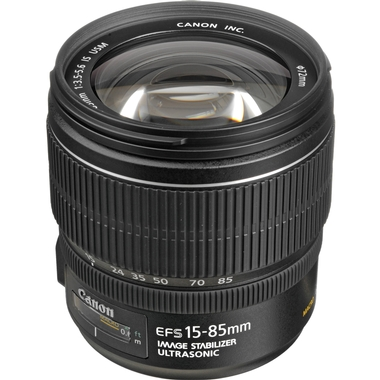 Canon - EF-S 15-85MM F/3.5-5.6 IS
