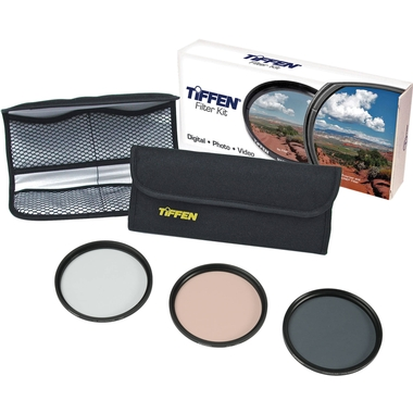 TIFFEN - KIT DE 3 FILTROS 52MM